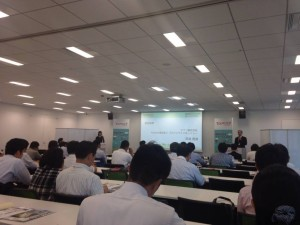 グランフロント大阪で開催されました。オフィスフロアは初めてだったので迷ってしまいました。。