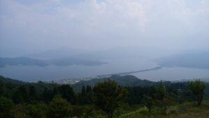 成相寺から見た景色